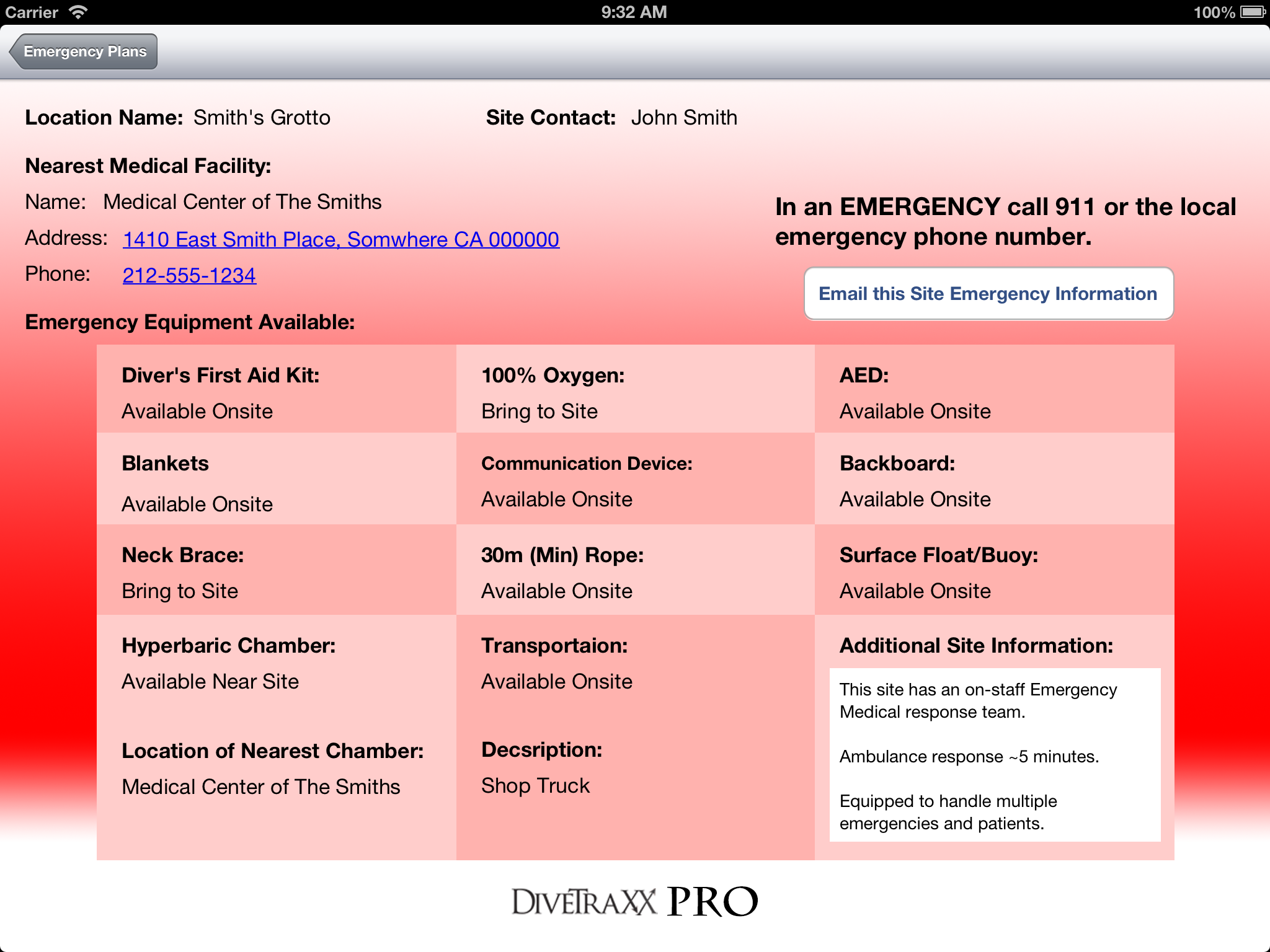 DTX2PRO_EmergencyView_PAD